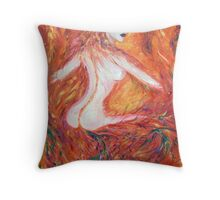 The Firebird Throw Pillow