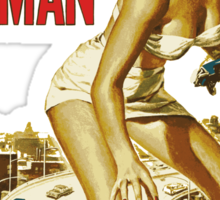 Attack of the 50ft WOMAN Sticker