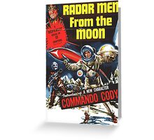 RADAR MEN from the MOON Greeting Card
