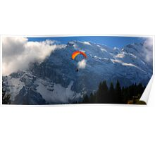 Paraglider 7 - Murren  Poster