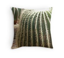 In a heap of Cactus Throw Pillow