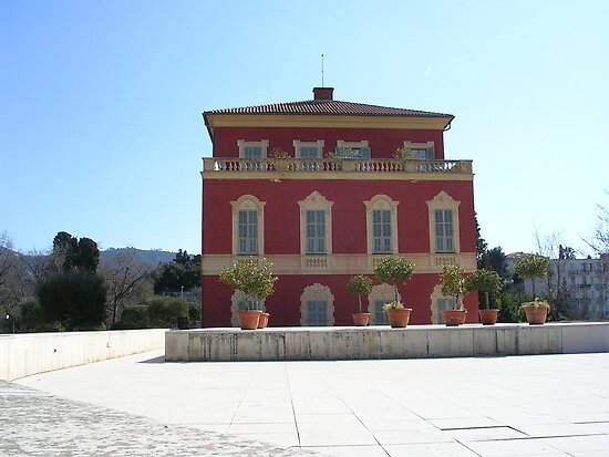 The house of Henri Matisse in Nice  by terjekj