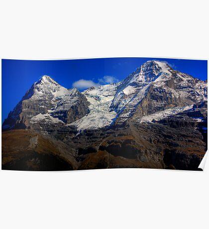 Eiger & Jungfrau  Poster