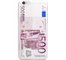 500 Euro Note iPhone Case/Skin