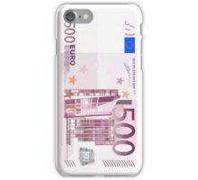 500 Euro Note iPhone Case/Skin