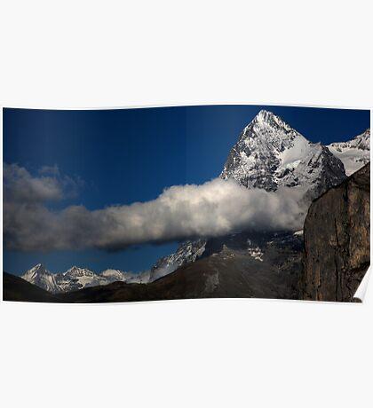 Eiger from Murren 2  Poster