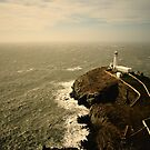 South Stack Lighhouse - Anglesey, Wales by Richard Owen