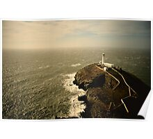 South Stack Lighhouse - Anglesey, Wales Poster