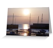 Bray Harbour Greeting Card