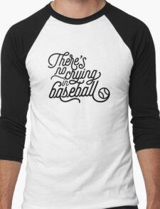 There's No Crying in Baseball Men's Baseball ¾ T-Shirt