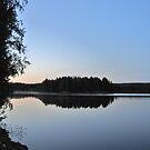 Lake at Night - Värmland by HELUA