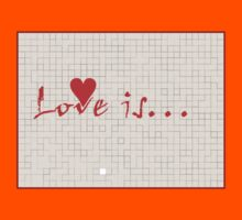 Love is v2 Kids Clothes