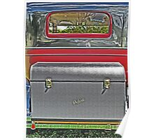 1929 Packard Luggage Trunk Poster