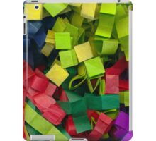Colorful cut tissue paper iPad Case/Skin
