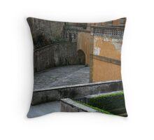 Archways of Pitti Throw Pillow