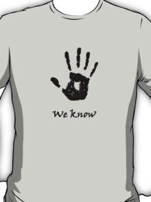Skyrim 'We Know'! T-Shirt