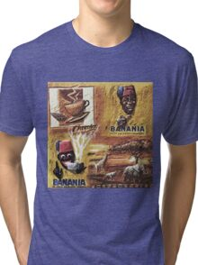 """Single ever seen """"Banania story"""" version 1: My Creations Artistic Sculpture Relief fact Main 19  (c)(h) by Olao-Olavia / Okaio Créations Tri-blend T-Shirt"""