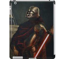 Darth Vader - Portrait (As a Knight) iPad Case/Skin