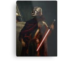 Darth Vader - Portrait (As a Knight) Metal Print