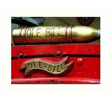 World War 1 London Bus Art Print