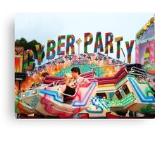 Cyber Party Canvas Print
