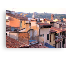 Roofs of Verona Canvas Print