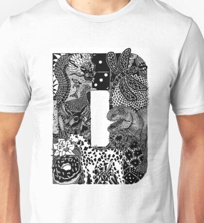 Letter D Unisex T-Shirt