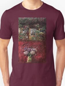 Exclusive: My Creations Artistic Sculpture Relief fact Main flower house 18  (c)(h) by Olao-Olavia / Okaio Créations Unisex T-Shirt
