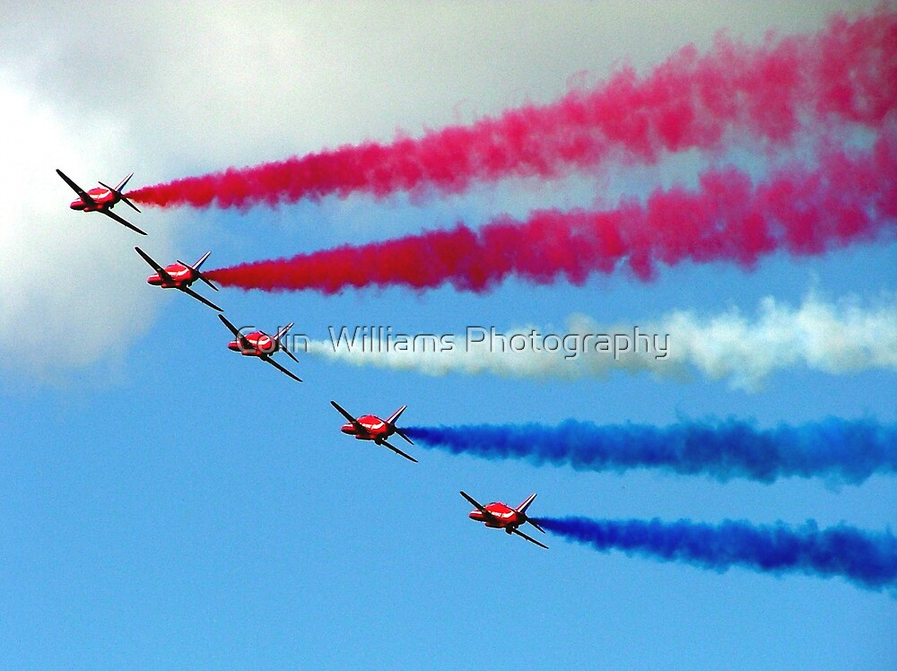 Red White and Blue by Colin  Williams Photography