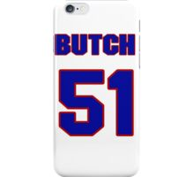National baseball player Butch Hobson jersey 51 iPhone Case/Skin