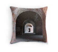 Fort Morgan Throw Pillow