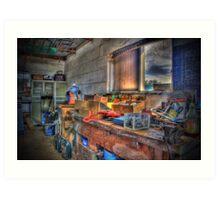 """Work Space"" Art Print"
