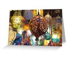 Lights, Venezia Greeting Card