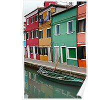 Burano, Italia Poster