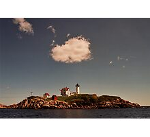 Cape Neddick Maine Lighthouse Photographic Print