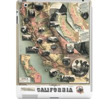 California - United States - 1888 iPad Case/Skin