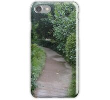 Pathway Through Forest iPhone Case/Skin