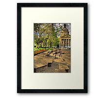 Legislature Grounds Series #3 Framed Print
