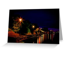 """Daybreak at Western Beach"" Greeting Card"