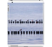 roost of the seagulls iPad Case/Skin