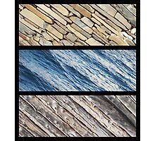 Stone, Water, Wattle and Daub Photographic Print