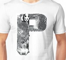 Letter P Unisex T-Shirt