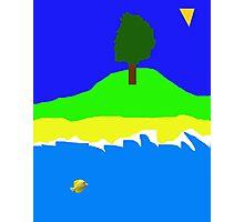 Primitive Island Photographic Print