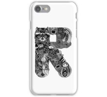 Letter R iPhone Case/Skin