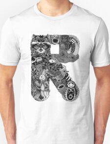 Letter R T-Shirt