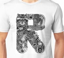 Letter R Unisex T-Shirt