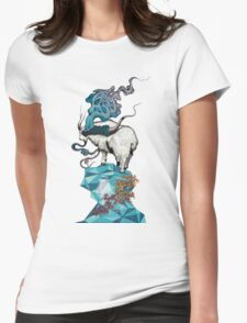 Seeking New Heights Womens Fitted T-Shirt