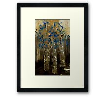 Three Sponge Trees Framed Print