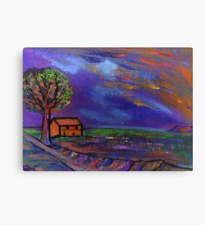 The landscape  Canvas Print