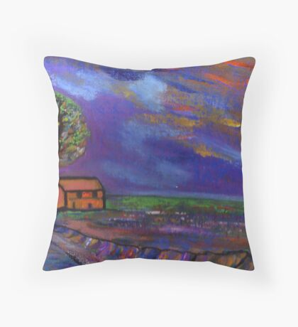 The landscape  Throw Pillow
